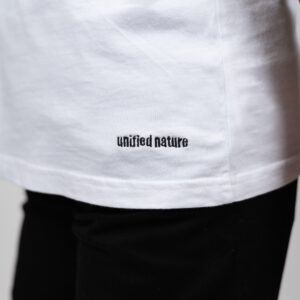 Unified-Nature-Classic-Logo-Tee-White-Model