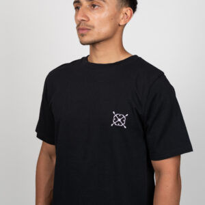 Unified-Nature-Classic-Logo-Tee-Black-Model