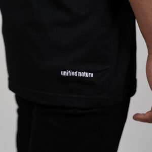 Unified-Nature-Classic-Logo-Tee-Black-Back