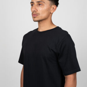 Unified-Nature-Freehand-Backprint-Tee-Black-Model-Front