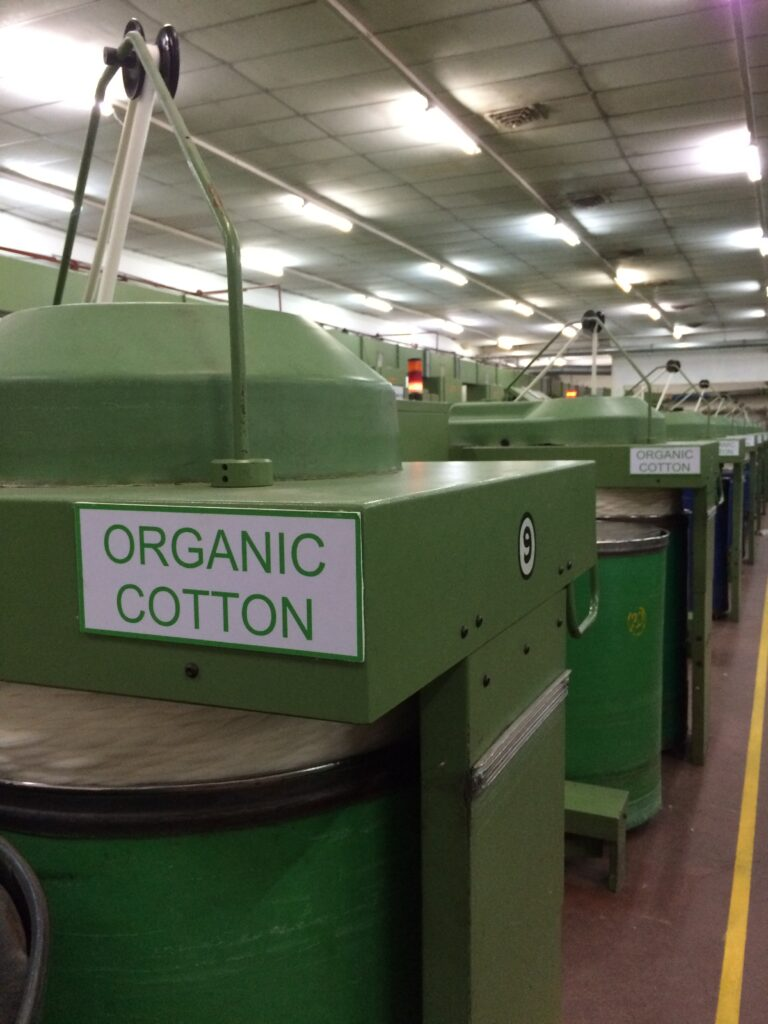 Unified Nature process organic cotton production