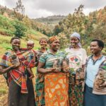 women planting trees